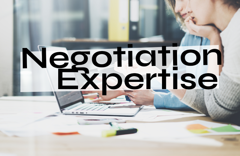 Negotiation Expertise